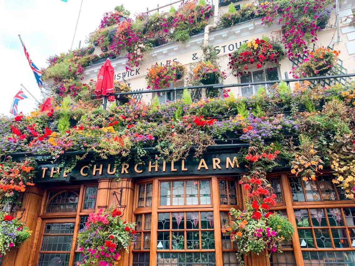 The Churchill Arm - Notting Hill