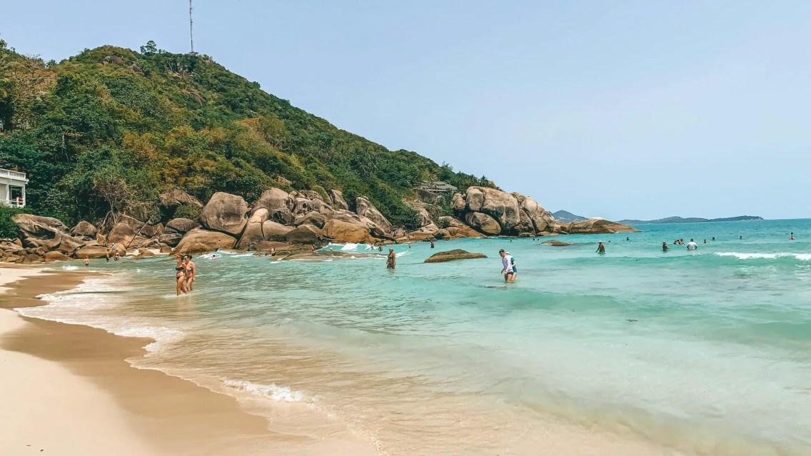 Silver Beach una de las mejores playas de Koh Samui