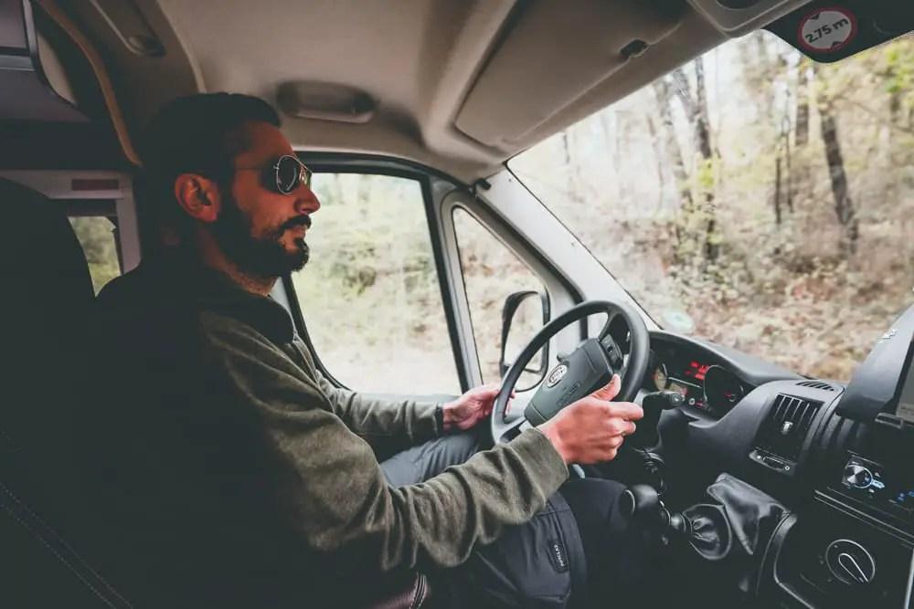 conducir camper