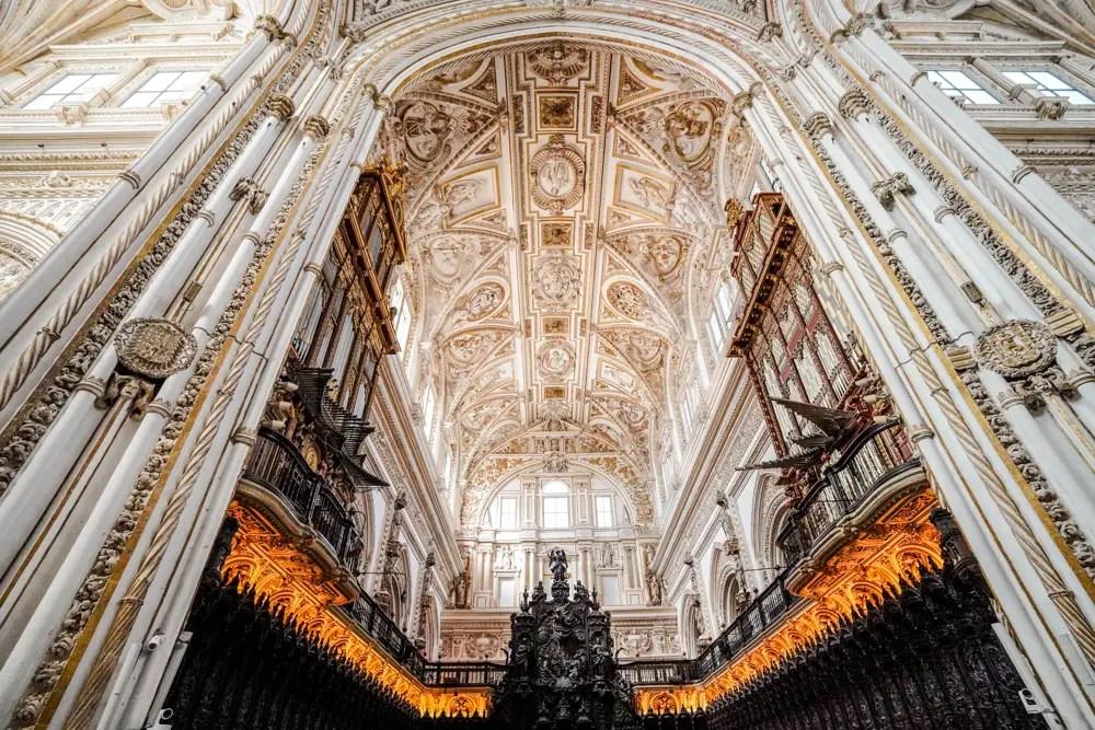 Mezquita catedral. Que hacer en Córdoba