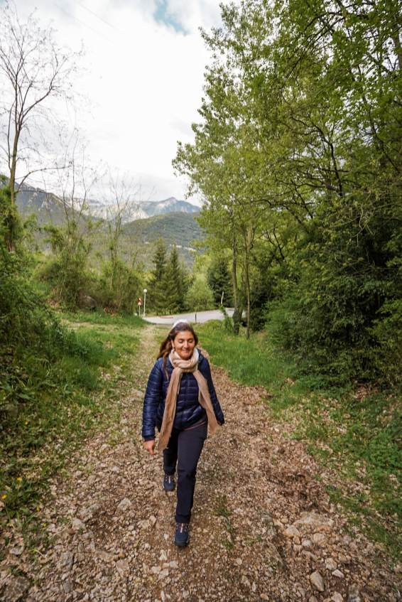 La Rodonella-sendero