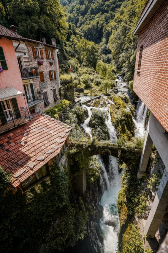 pueblos del lago di Como