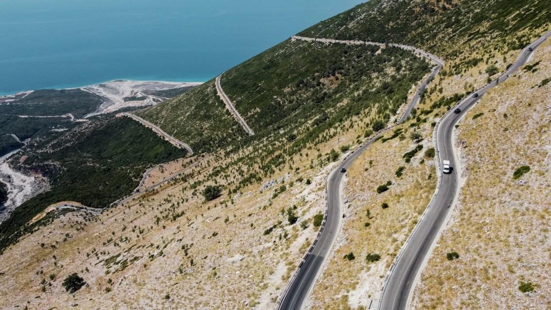 carretera albania
