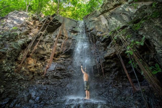 Cachoeira do Sancho só aparece após dias de chuva. Foto: Luiz Pessoa/NE10