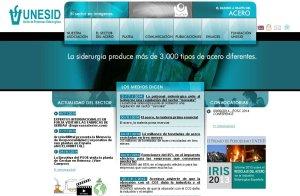 Portal web de Unesid.