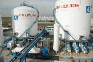 Una central de producción de Air Liquide.