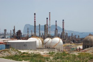 Imagen de las instalaciones de Cepsa en San Roque.