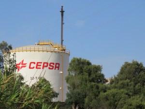 La planta de Cepsa Biocombustibles.