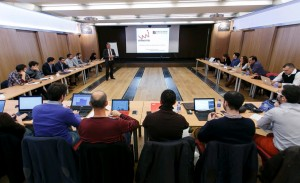 Sesión de formación de los emprendedores. / Jaime Martínez