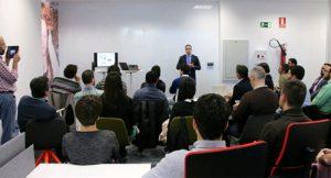 Una de las sesiones de formación de Minerva Forum.
