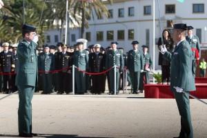 Toma de Posesión de Ezequiel Romero, nuevo Jefe de la Comandancia de la Guardia Civil de Huelva