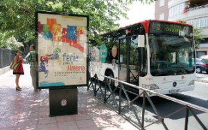 (AL).-190815.- Autobús urbano. FOTO: (RAFAEL GONZÁLEZ) RG190815- AUTOBUS URBANO FERIA