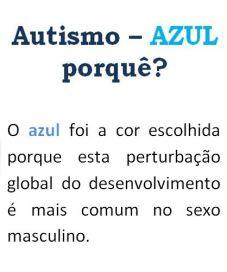 autismo azul