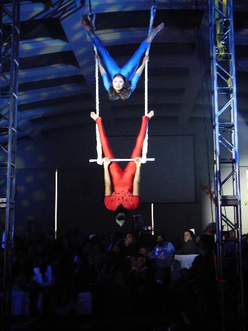 danza aérea, show aéreo, show de telas, show de aro, acrobacia aérea, show aéreo méxico