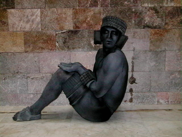 estatuas vivientes, estatuas, personajes, body paint, maquillaje, estatuas méxico