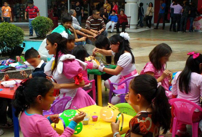 pintacaritas, pintacaritas en méxico, talleres infantiles, manualidades para niños