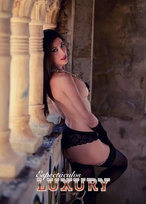 Striper para despedidas en Málaga Karina