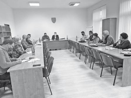 Zasadnutie bezpečnostnej rady okresu