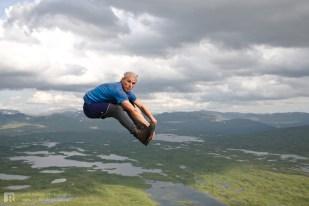 ... at the top of Kjukkelfjellet