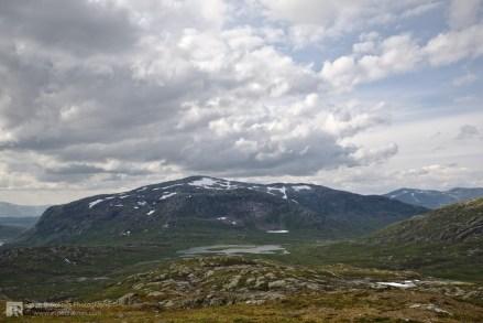 Sklettfjellet in the back