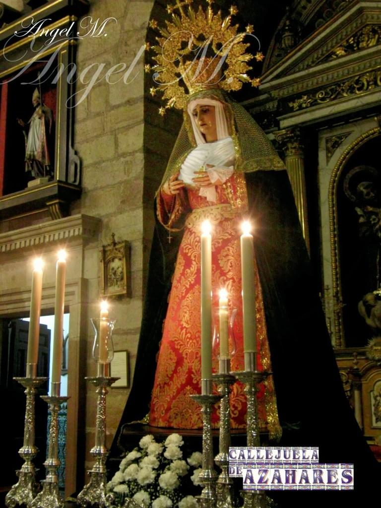 Rosario claustral de Ntra. Sra. de la Esperanza del año 2013