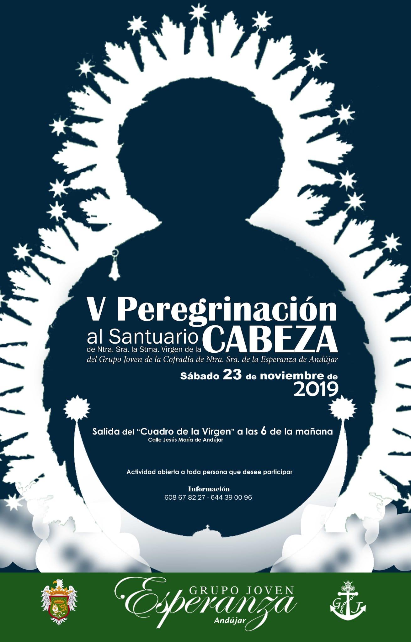 V PEREGRINACIÓN AL SANTUARIO DE LA VIRGEN DE LA CABEZA