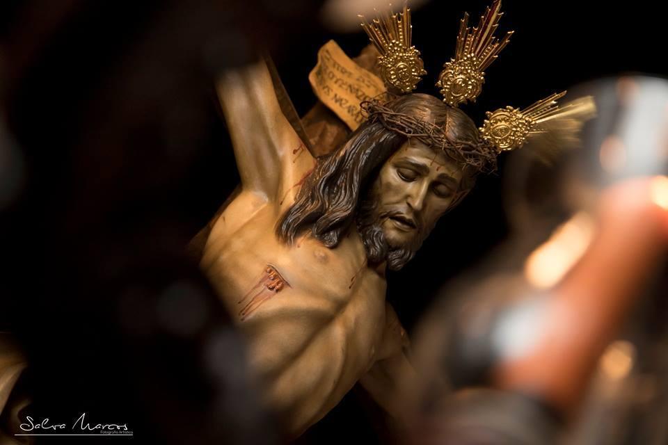 Stmo. Cristo de la Providencia durante el Vía Crucis del año 2019