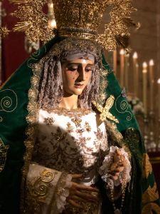 Celebración del Triduo a la Virgen de la Esperanza del 13 al 15 de diciembre.