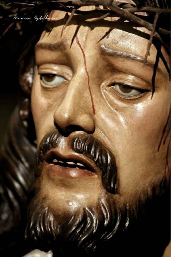Retrato de Ntro. P. Jesús Caído realizada por Manuel Esteban