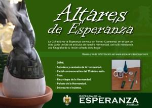 La Cofradía de la Esperanza convoca el sorteo «Altares de Esperanza» durante la cuaresma