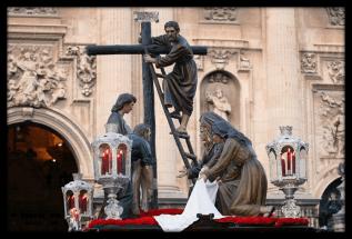 Misterio de Jesus Descendico de la cruz (Jaén)