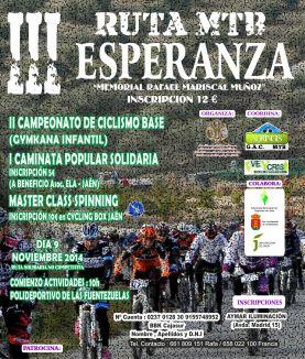 cartel III Ruta MTB Esperanza