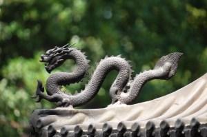 Symbolbild China, ferner Osten, Drache