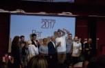 L'emozione dei ragazzi del Marelet, il Bar dell'anno 2017