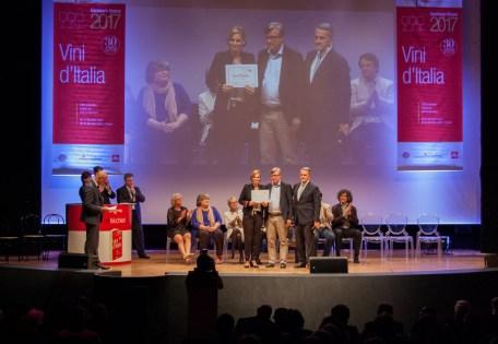 Il premio Bianco dell'anno va alle Marche con il Misco, di Tenuta di Tavignano