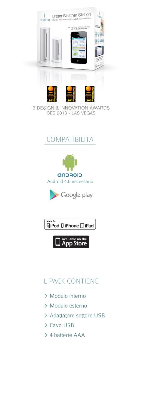 monitorare Co2 in casa app netatmo