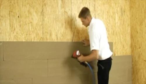 argilla per intonaco interno