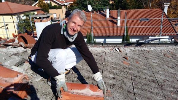 Scoperchiare il tetto in latero cemento per verificare la cappa in cls Part 3-01