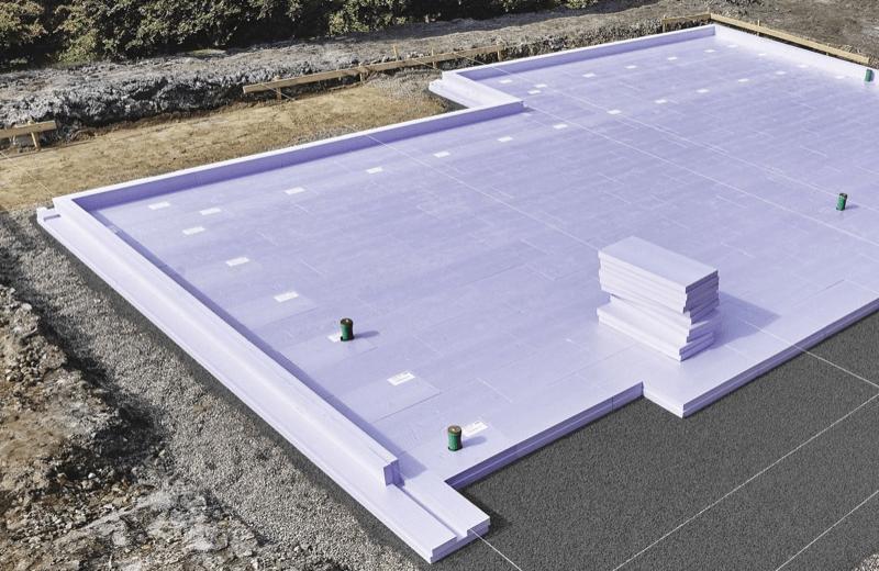 EDIFICIO & TIPOLOGIA COSTRUTTIVA : - Soluzioni di isolamento per la platea di una Casa Passiva in laterizio 16