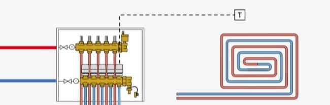 regolazione temperature ambiente - Regolazione della temperatura di mandata per impianto radiante 20