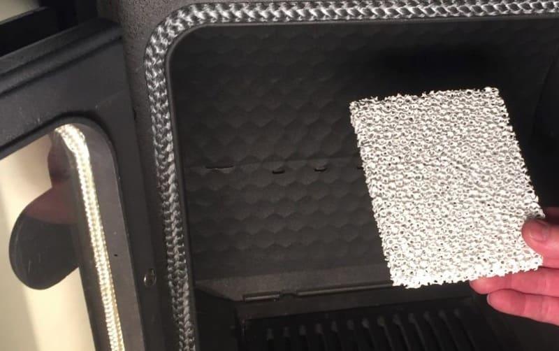 riscaldamento a legna - Inquinamento da polveri sottili di stufe e camini, il filtro ceramico 3