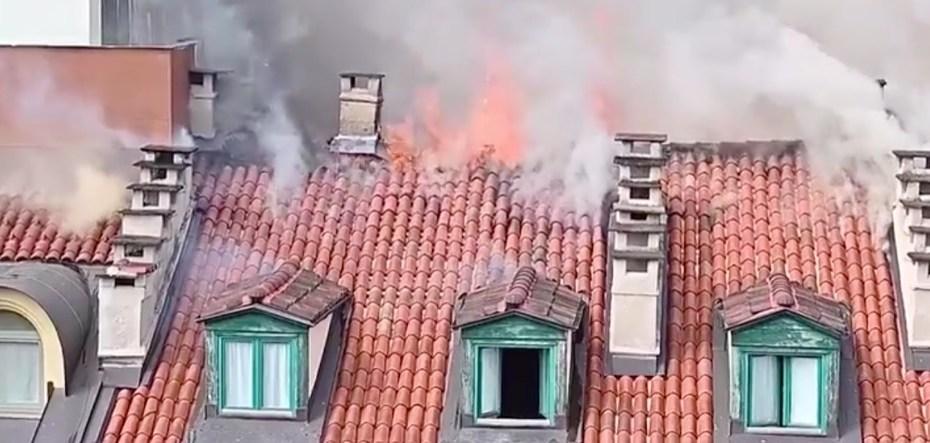 isolamento in intercapedine - Anche a Torino un altro edificio in fiamme 1
