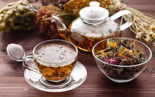 diferentes tipos de chás