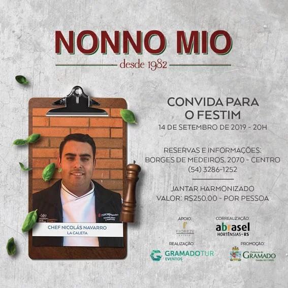Nonno Mio - Festival de Cultura e Gastronomia de Gramado