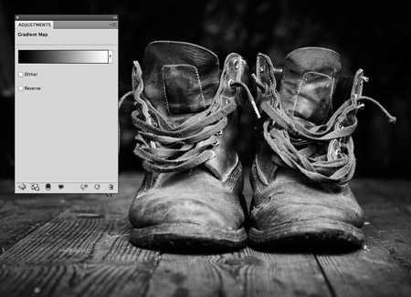 Как сделать в фотошопе красивую черно белую фотографию ...