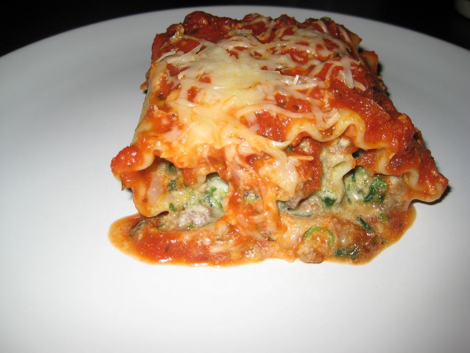 Stuffed Lasagna Rolls (4/4)