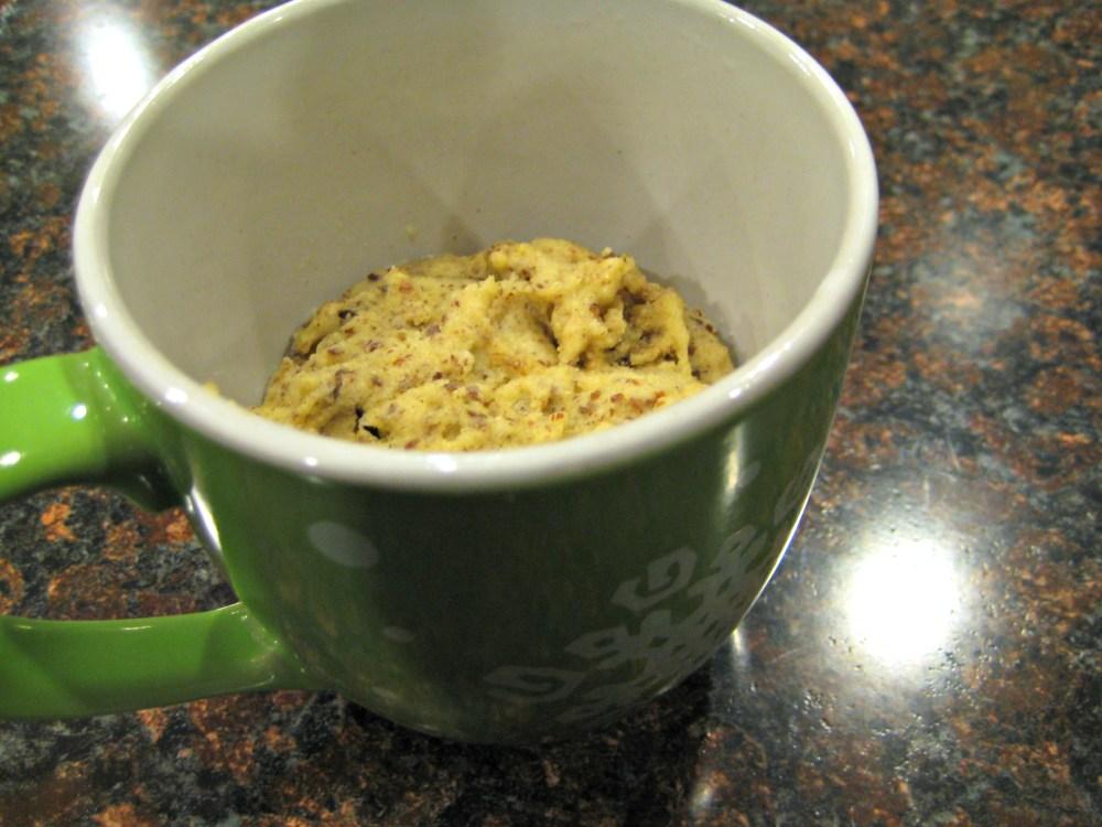 Allergen/Gluten-Free Bread in a Mug (1/3)