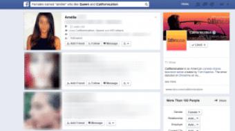 Trouver profil Tinder avec Facebook