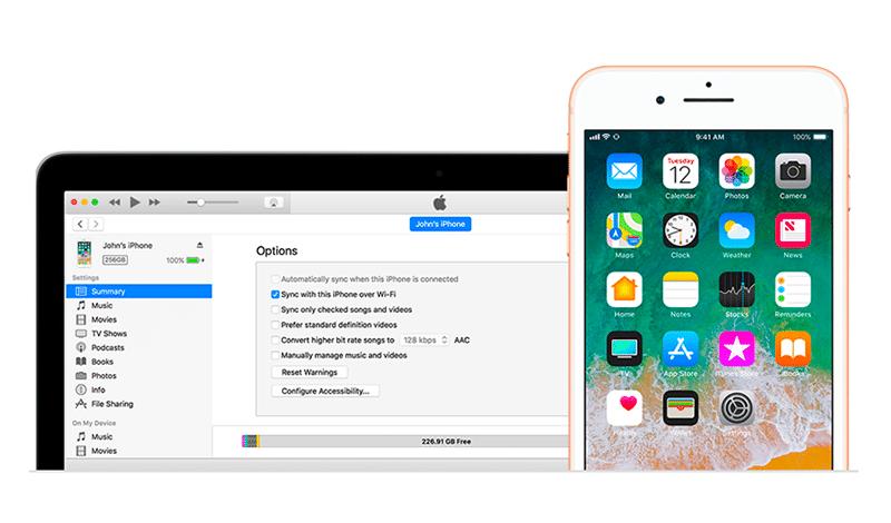 Récupérer données iPhone sur iTunes