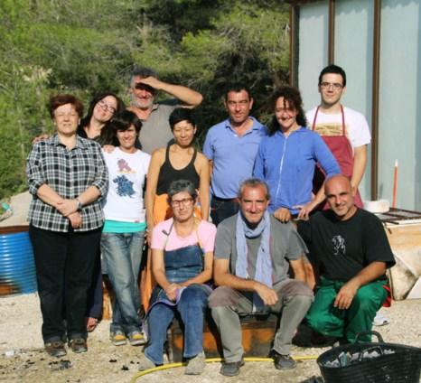 Participantes del curso Benissa, sept. 2014